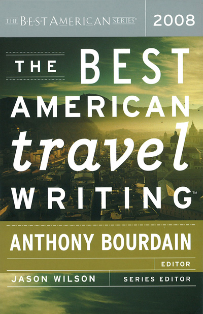 The Best American Travel Writing 2008 book jacket