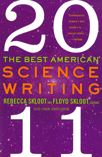 The Best American Science Writing 2011 book jacket
